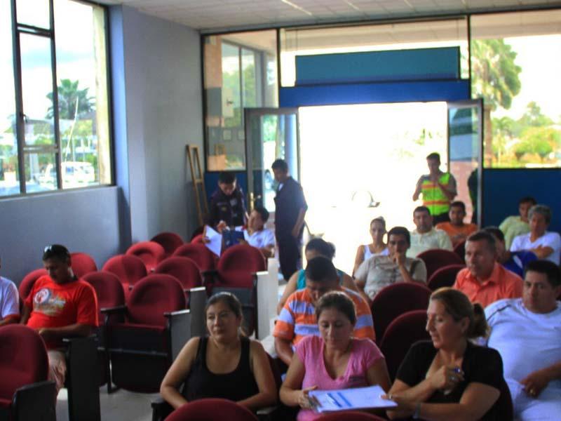 Socializacion –Estudio de necesidades  asociacion de Chiguaza.
