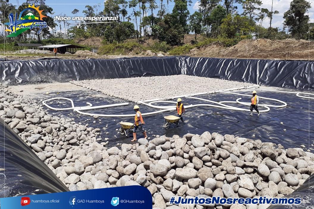 ALCALDÍA DE HUAMBOYA AVANZA EN LA CONSTRUCCIÓN DE UNA NUEVA CELDA PARA LA DISPOSICIÓN FINAL DE LOS DESECHOS SÓLIDOS EN EL CANTÓN.