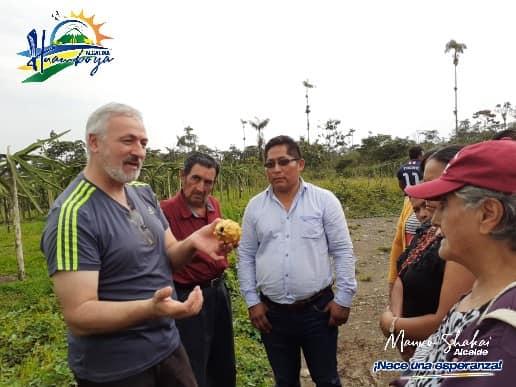 ALCALDÍA DE HUAMBOYA Y PRODUCTORES DE PITAHAYA ENCAMINAN ACCIONES PARA POTENCIAR LA PRODUCCIÓN DEL CANTÓN.