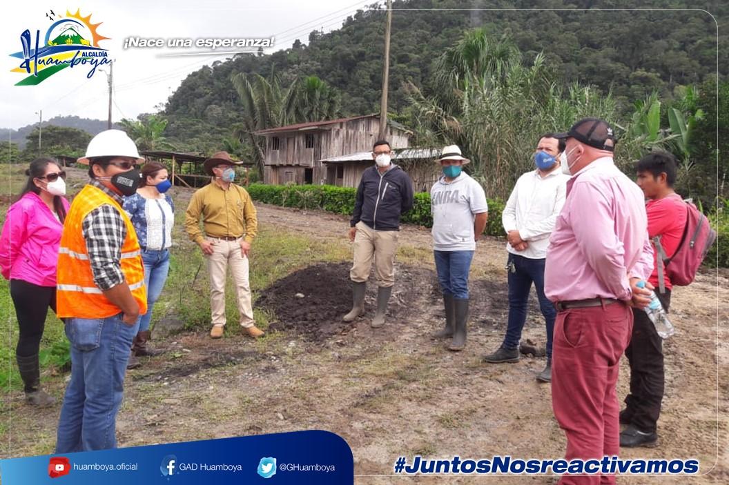 LA ALCALDÍA DE HUAMBOYA DIO INICIO A LA CONSTRUCCIÓN DEL SISTEMA DE AGUA PARA COMUNIDAD TSUNTSUIMI.